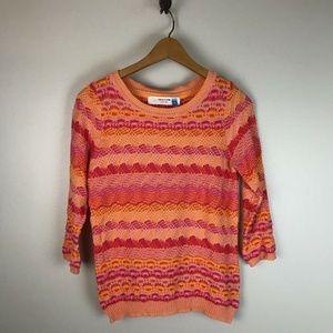 Sparrow Anthropologie Scallop Stitch Sweater